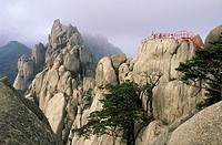 South Korea, Sorak mountains, Ulsan rock