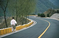 South Korea, road in Kurye region