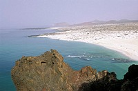 Yemen, Qana, beach