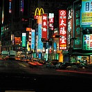 China, Taiwan, Taibei, neon signs