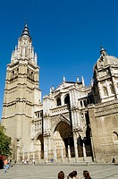 Cathedral. Toledo. Castilla-La Mancha. Spain