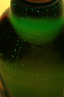 Close-up on a bottle
