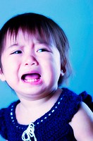 Baby girl crying (thumbnail)