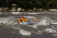 Rafting Nenana River Denali NP/AK