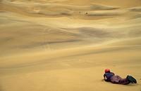 Dune Surfing, Swakopmund, Namib Desert, Namibia