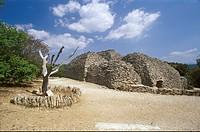 Village-des-Bories-at-Gordes,-Vaucluse,-France,-Drystone-Masonry