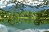 Lake-Gardens,-62-hectar-Park-blt-in-1890,-Taiping,-Perak,-Malaysia