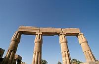 Ancient-Columns,-Karnak,-Egypt