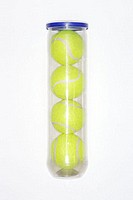 Tube of tennis balls