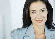 Businesswoman smiling at camera, portrait