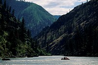 Rafting on Salmon River, Idaho, USA