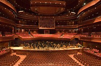 The Kimmel Center for the performing arts academy of music-Rafael Vinoly, architecte. City of Philadelphia. Pennsylvania. USA.