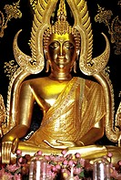 Golden statue of a Buddha