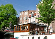 Canal house architecture, Amsterdam, Holland (thumbnail)