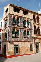 Typical building, Carmona. Sevilla province, Andalusia, Spain
