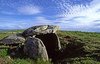 Casa da Moura dolmen. Baixa Limia-Serra do Xurés Natural Park. Orense province, Galicia, Spain