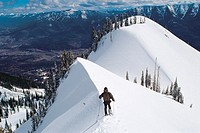 Snowshoeing, Fernie Alpine Resort, Fernie, British Columbia