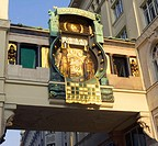 The Anker Clock At Hoher Markt, Vienna, Austria