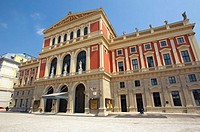 Musikverein, Gesellschaft Der Musikfreunde Building, Vienna, Austria