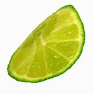 A lime wedge