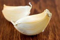 Two cloves of garlic
