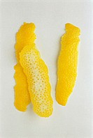Three Pieces of Lemon Rind