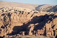 Nabatean site of Petra. Kingdom of Jordan