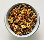 Shelled Walnuts in a Bowl