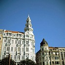 Bank buildings. Porto. Portugal