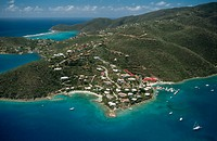 Leverick Bay. Virgin Gorda Island. British Virgin Islands. West Indies. Caribbean