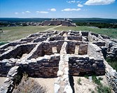 Gran Quivira ruins. Salinas Pueblo Missions National Monument. New Mexico, USA