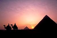 Pyramids of Giza.