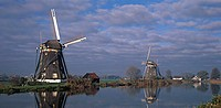 Two windmills.