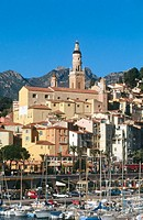 Menton. French Riviera. France