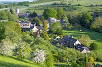 England, Gloucestershire, Cotswolds, Snowshill scenic