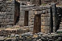 Peru, Department of Cuzco, Pisac, Sacsayhuaman Inca ruins