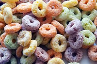 Coloured Fruit Loops