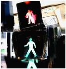 Traffic lights. Valencia. Spain