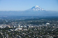 Tacoma and Mount Rainier