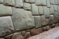 12 pointed Inca Stone in Cuzco, Peru