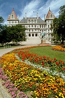 State Capitol Building at Albany New York NY