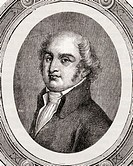 Gilbert Romme,  1750-1795. French politician during the French revolution. From 'Histoire de la Revolution Francaise' by Louis Blanc