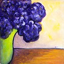 'Garden Bouquet' Acrylic on canvas. 2004. Private collection