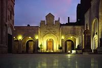 The interior of the Forty Martyr´s Armenian Apostolic Church in Deir ez Zoir, Zor, Syria