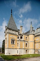 Louis XIII style manor house which belonged to tsar Alexander III of Russia, Massandra. Crimea, Ukraine