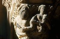 Santa María de Ripoll. Ripollès. Girona province, Catalonia, Spain
