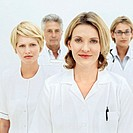 portrait of a group of medical professionals