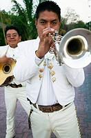 Mariachis. Cancun, Yucatan Peninsula, Mexico