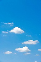 blue sky, clouds, blue, sky, weather