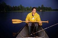 An oarsman